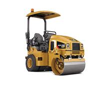Caterpillar mini road roller CC24B