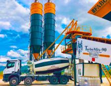Fabo TURBOMIX-90 MOBILE CONCRETE BATCHING PLANT