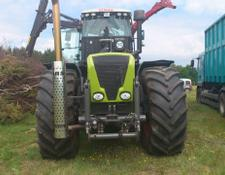 Claas wood chipper Xerion 3800 + Ahwi EC950