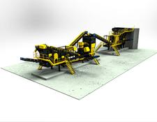 Fabo MCK-95 MOBILE CRUSHING & SCREENING PLANT | JAW+CONE