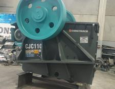 Constmach jaw crusher 250-300 tph CAPACITY PRIMARY JAW CRUSHER – 110 x 85 cm OPENING S