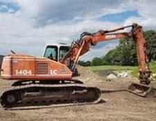 Atlas tracked excavator 1404