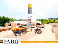 Fabo SKIP SYSTEM CONCRETE BATCHING PLANT | 60m3/h Capacity