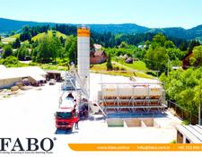 Fabo SKIP SYSTEM CONCRETE BATCHING PLANT | 110m3/h Capacity