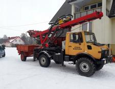 Mercedes-Benz drilling rig UNIMOG