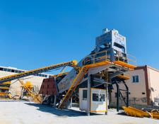 Fabo TURBOMIX-110 Mobile Concrete Batching Plant