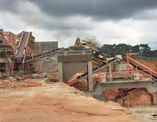 "Constmach mobile crushing plant 60 -80 tph CAPACITY MOBILE ""JAW + CONE + VSI"" CRUSHER"