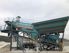 Constmach concrete plant 30 m3/h MOBILE CONCRETE PLANT FROM EUROPE'S BEST SELLER MANUFACT